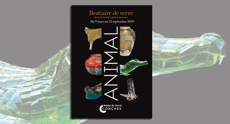 Exposition « Animal - Bestiaire de verre » au musée du Verre de Conches