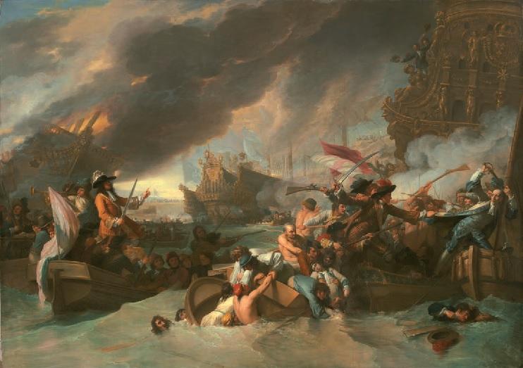 Bataille de la Hougue