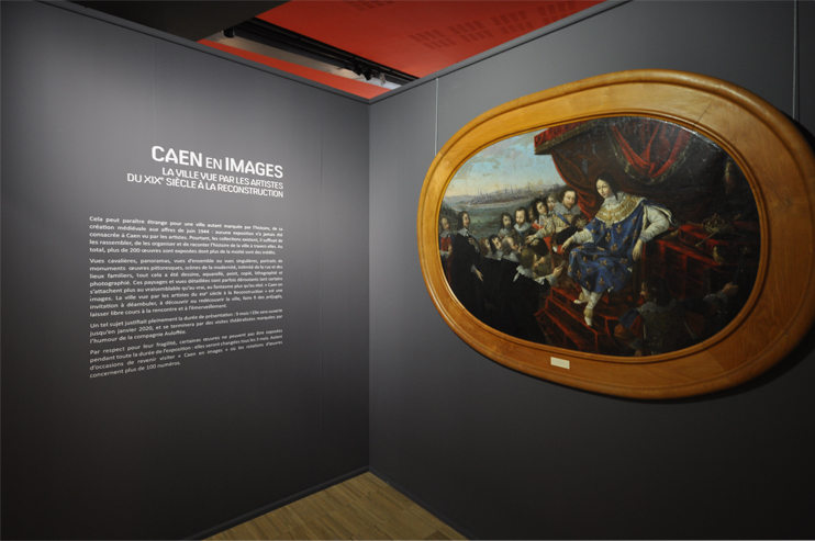 Expo Caen en images - musée de Normandie