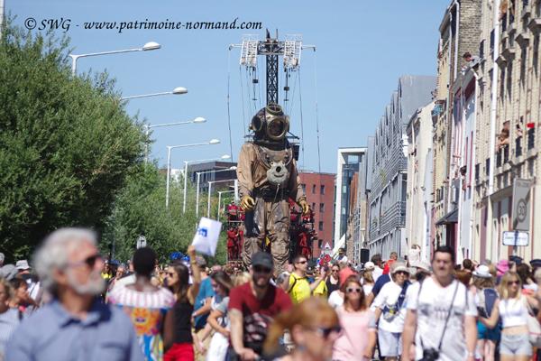 Le Havre : des géants et des expos historiques !
