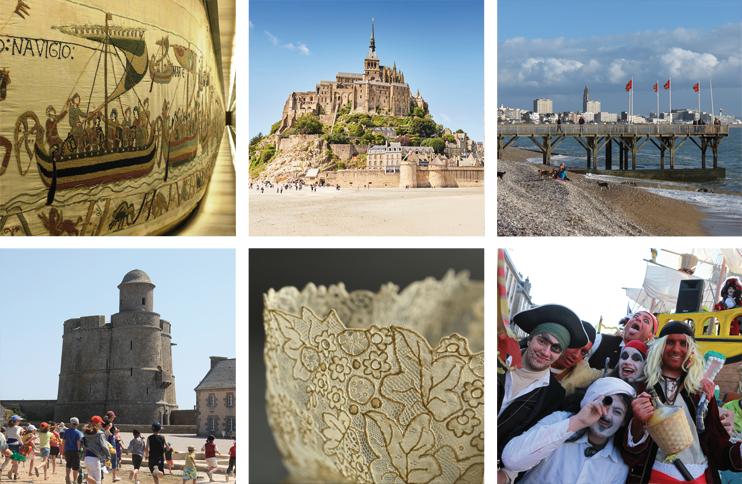 Normandie et UNESCO